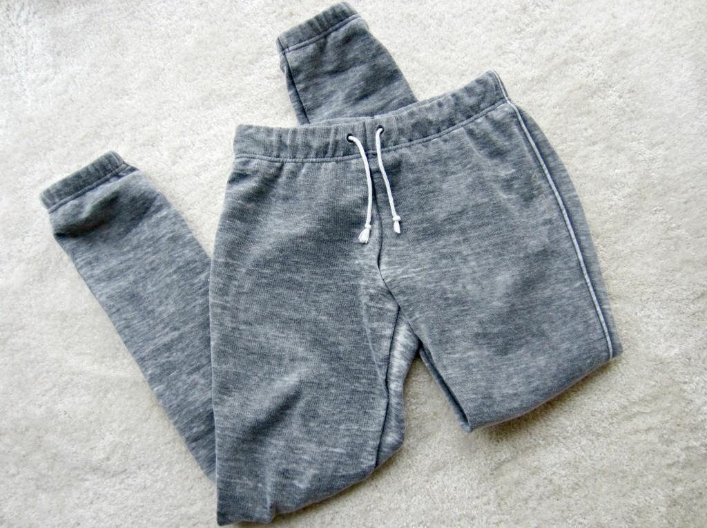 reebok yoga burnout pant grey