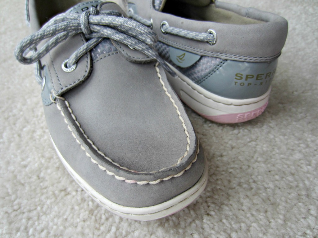 sperrys how to remove stain