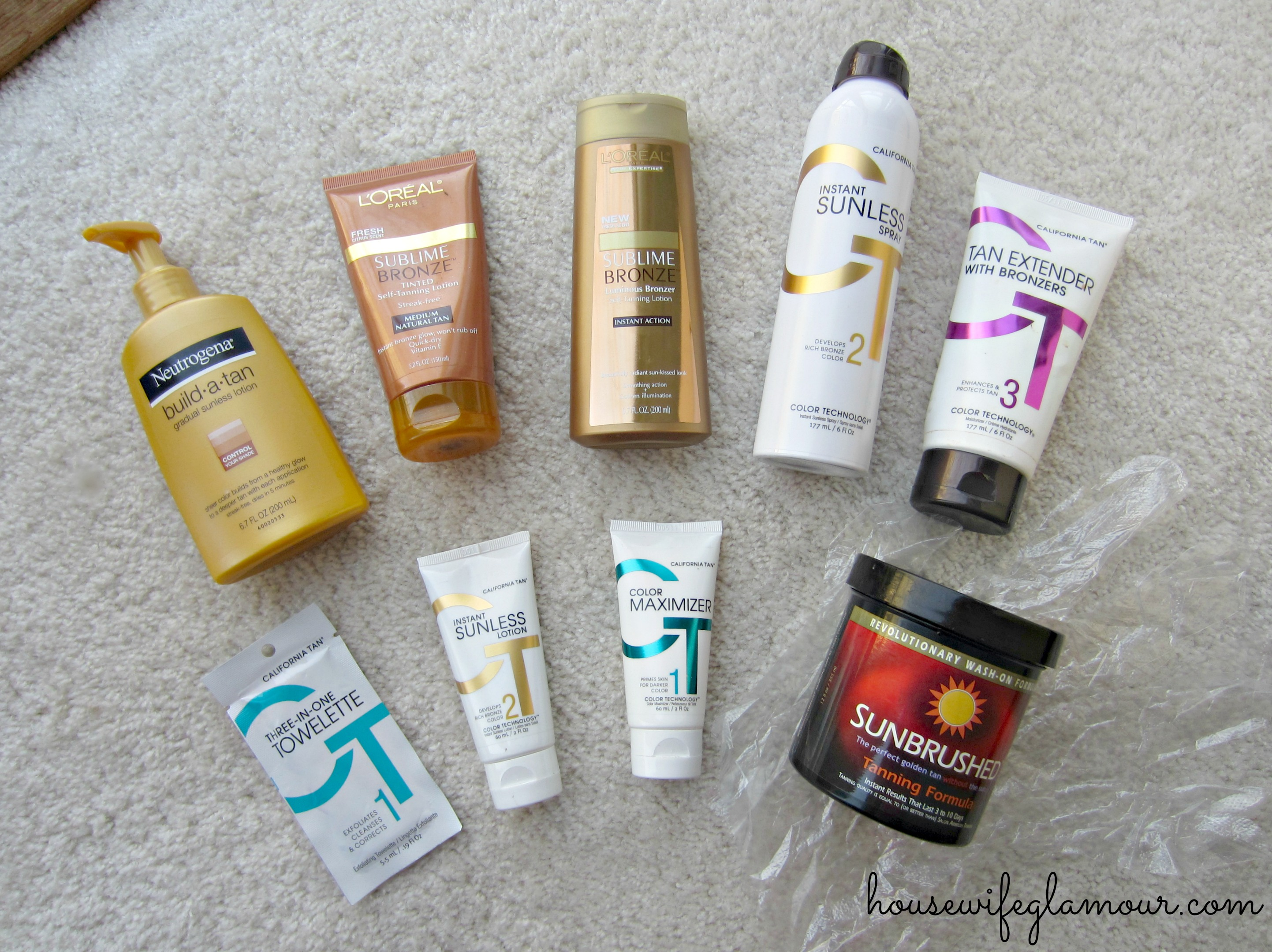 spray and self tanning tips and products