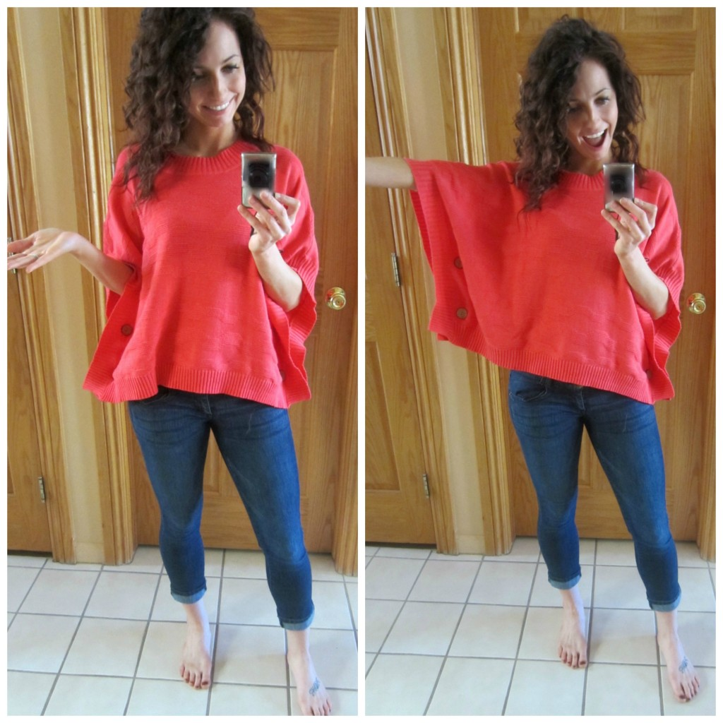 stitch fix poncho