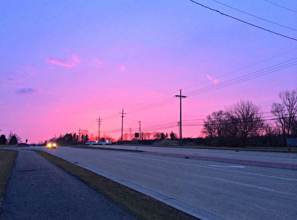 sunset run with roadie 3