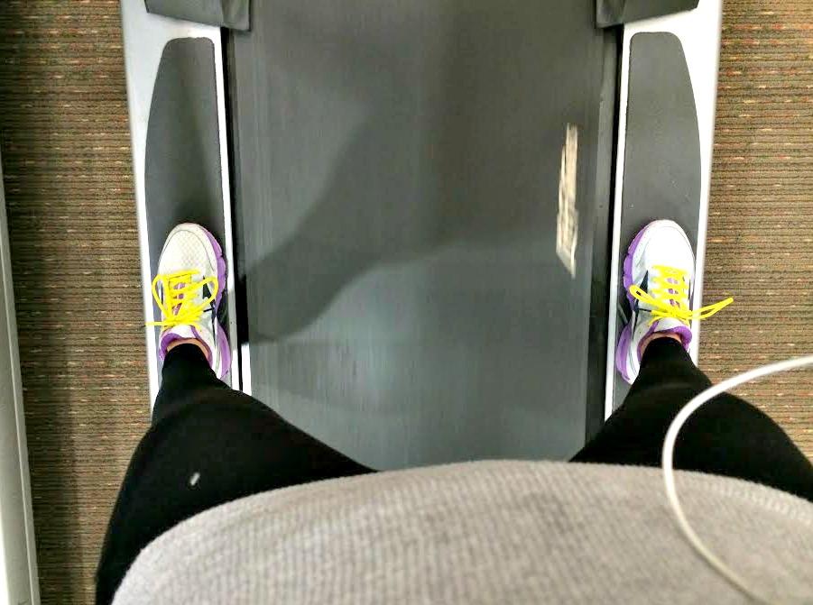 treadmill resting