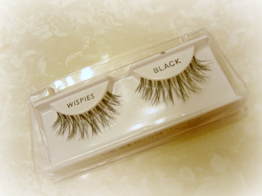 wispies black false eyelashes