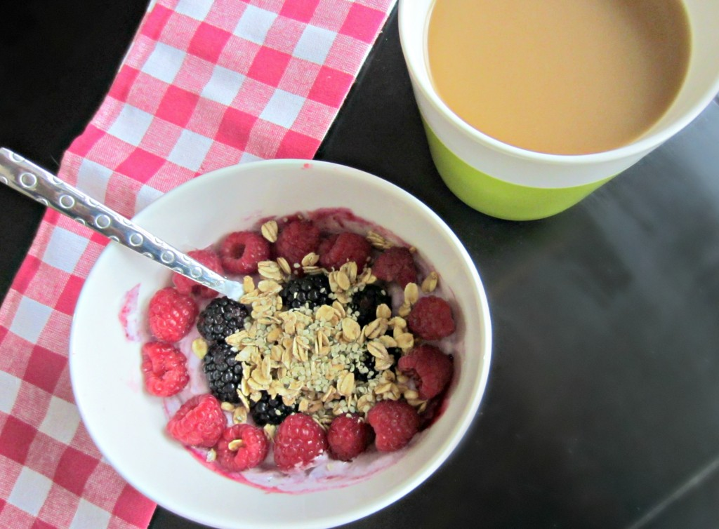 yogurt bowl with fruit