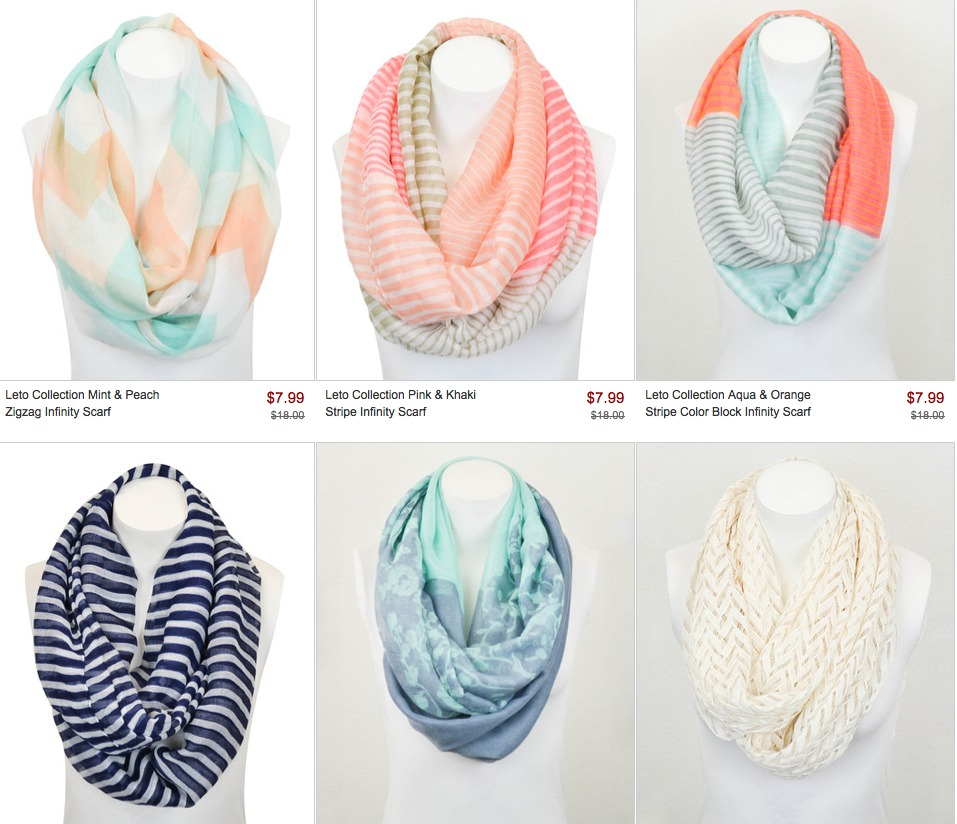 zulily leto collection scaves