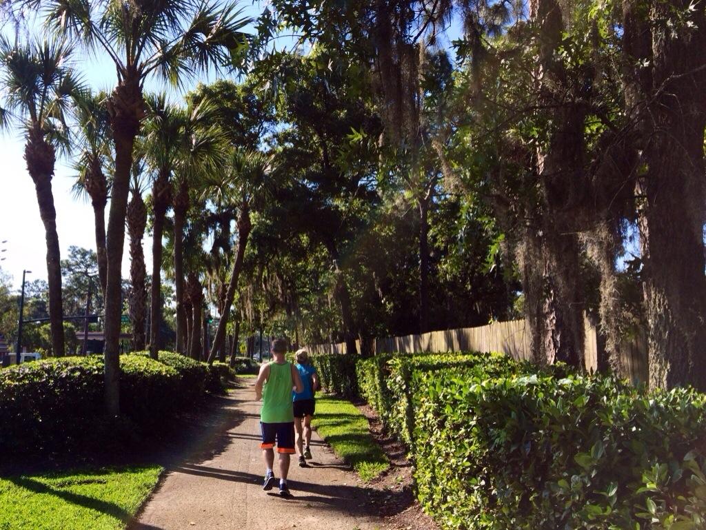 running in florida