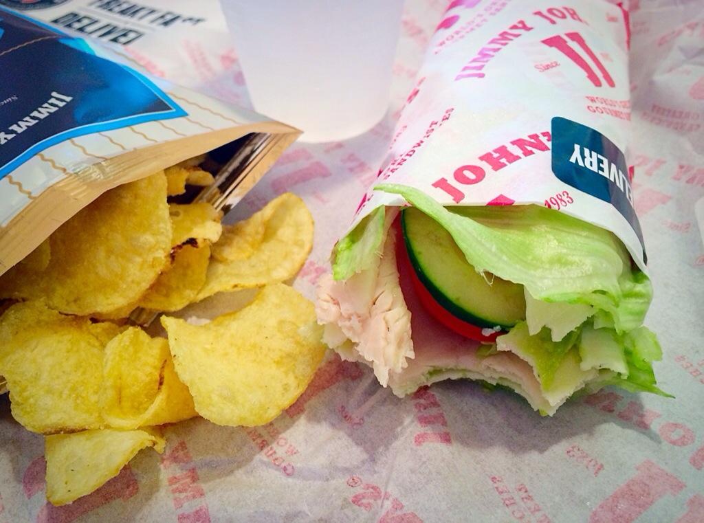 jimmy johns lower carb sandwich