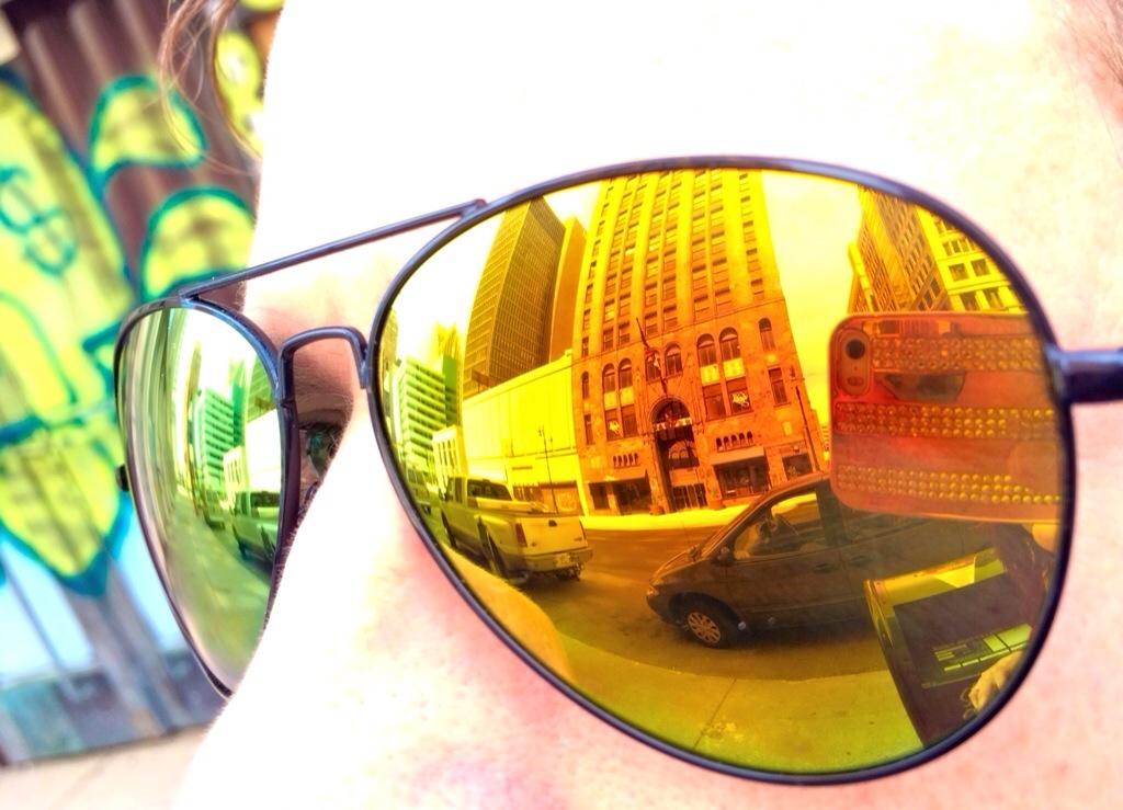 downtown detroit perspective