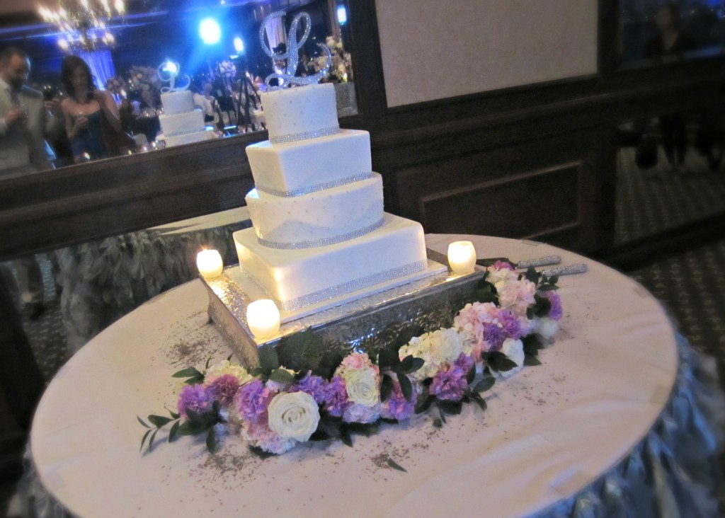 Megan and Jack wedding cake