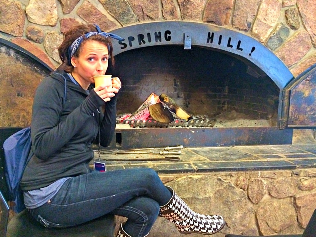 Spring Hill fireplace