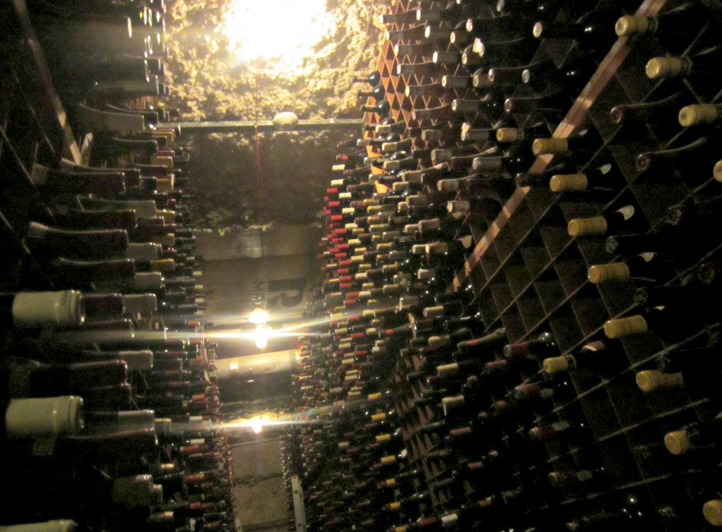 bern steakhouse wine cellar