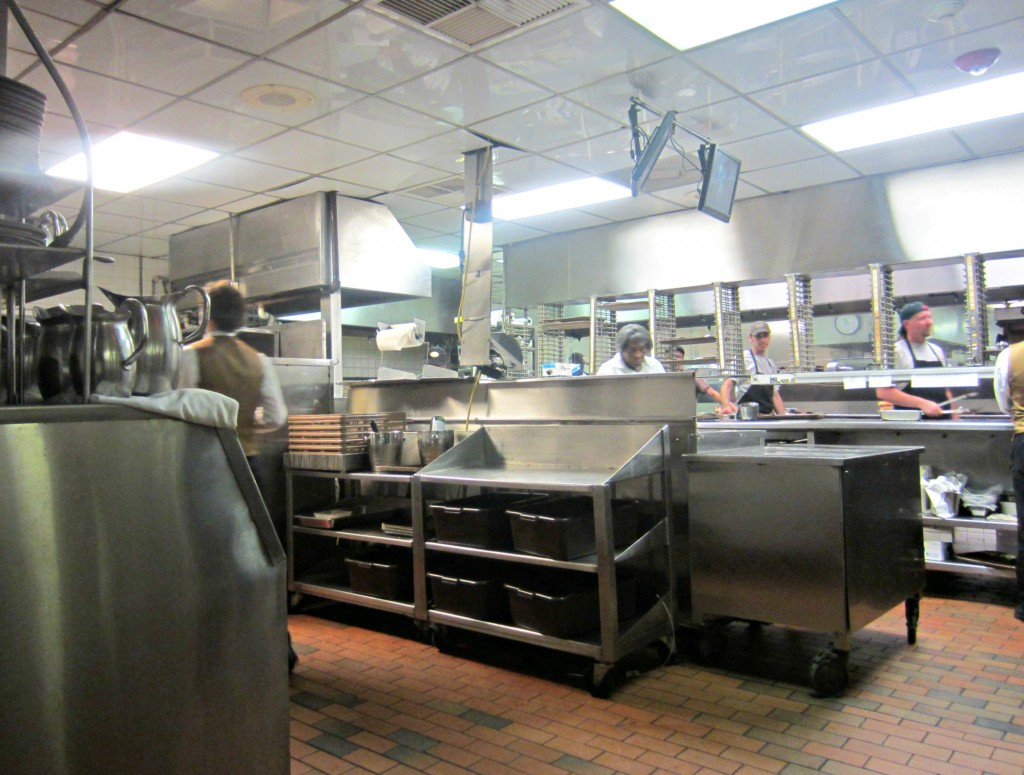 berns steakhouse kitchen tour
