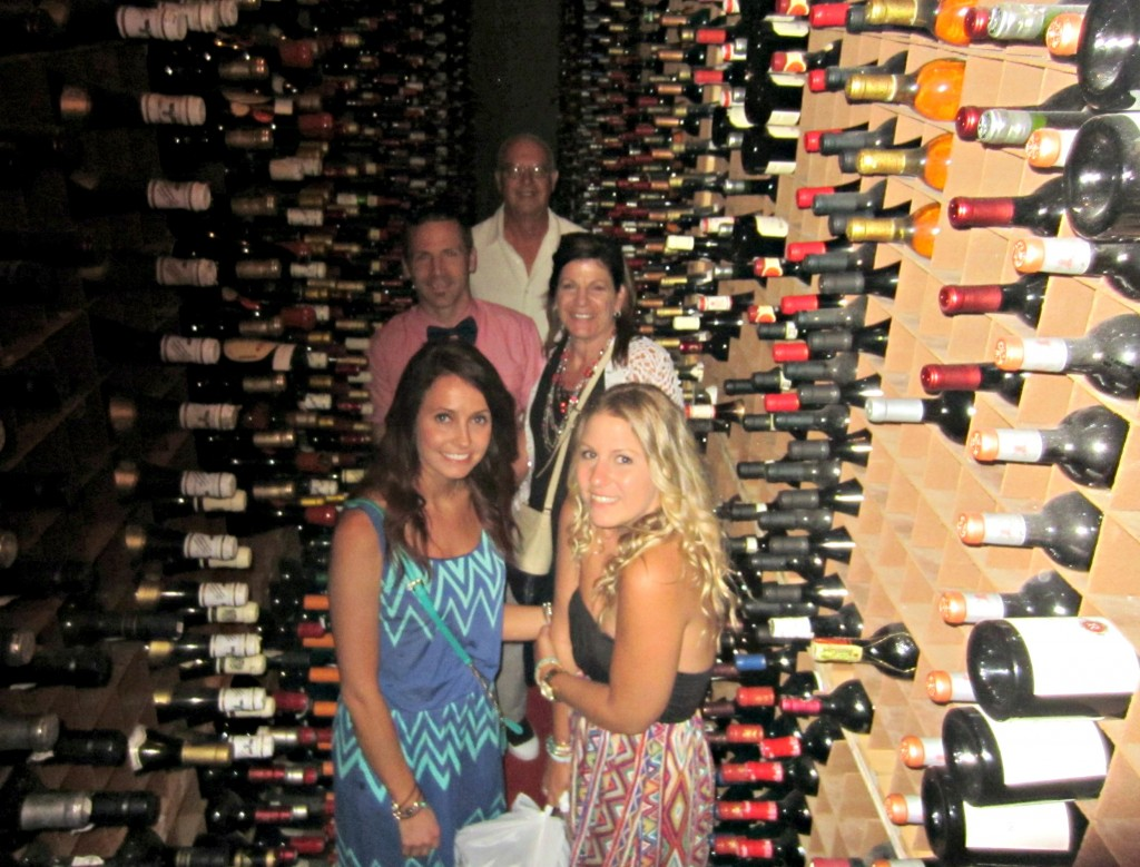 berns wine cellar photo