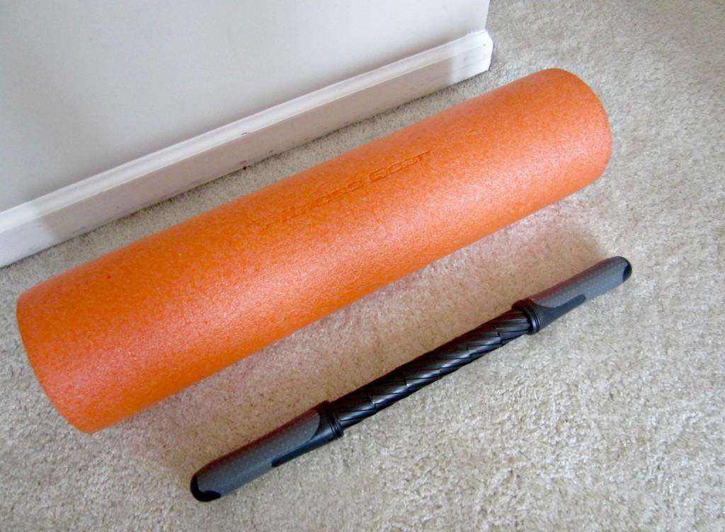 foam roller and massage bar