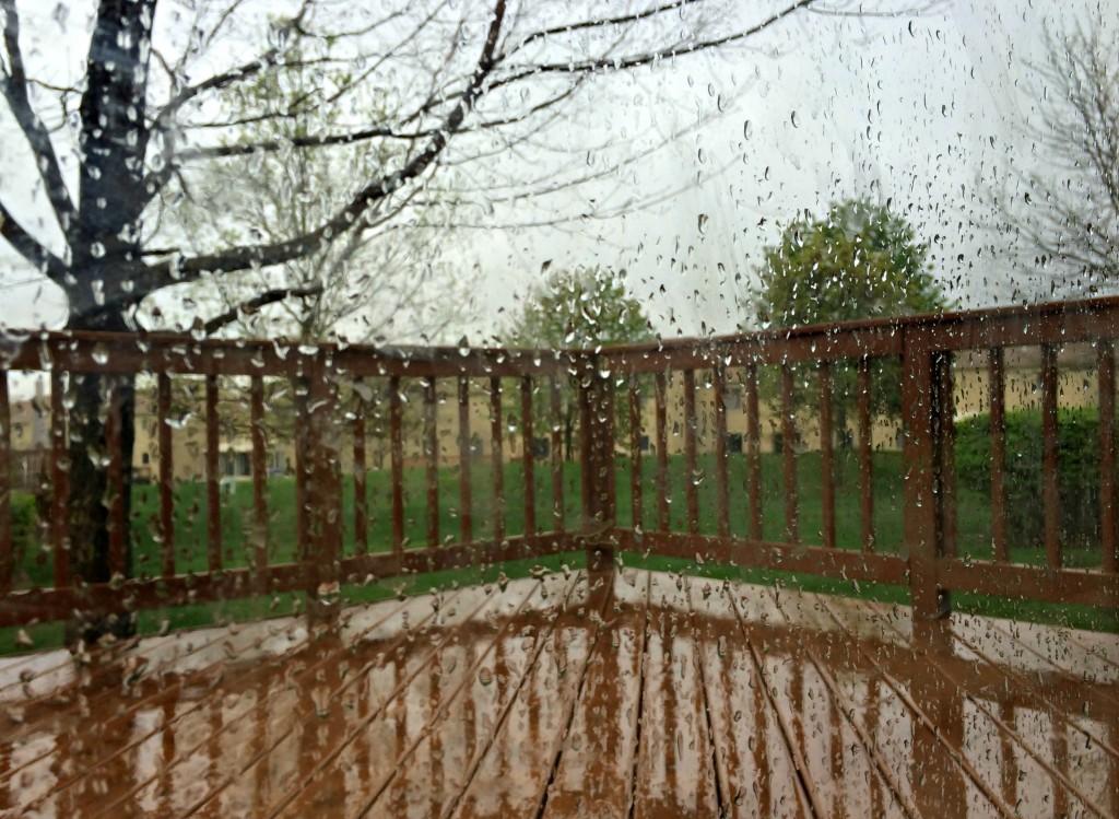 rainy gloomy day