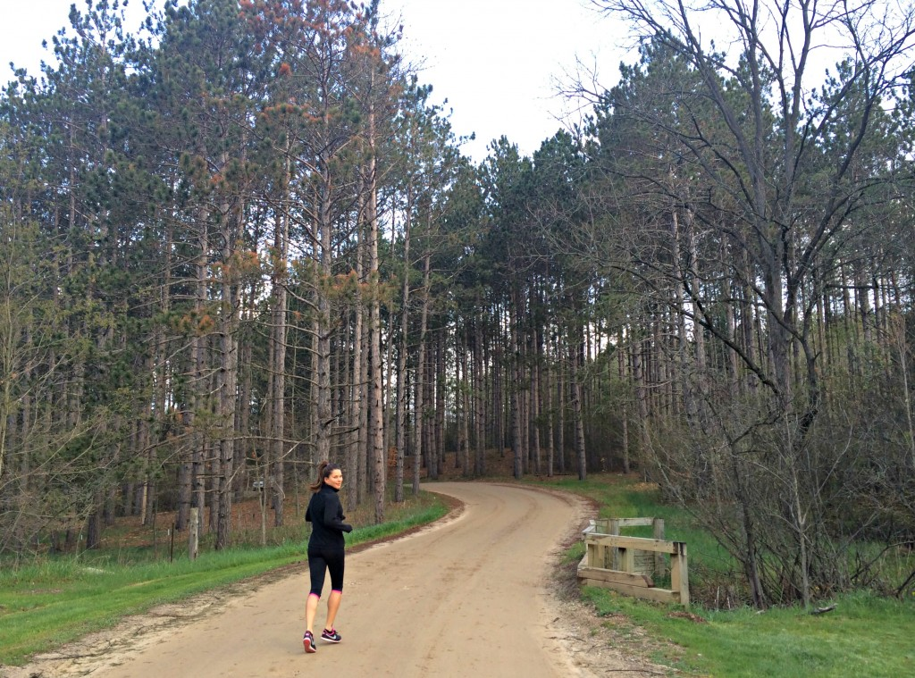 running in the woods springhill