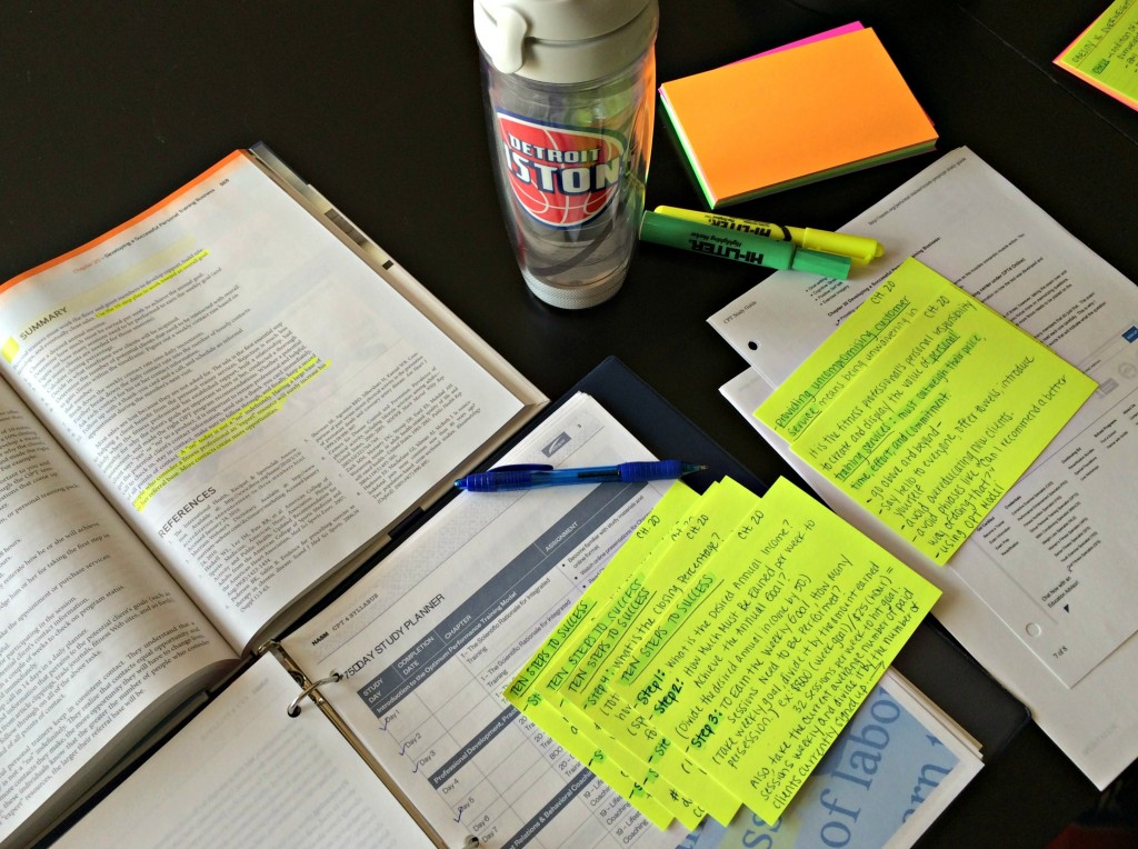 study sessions for NASM