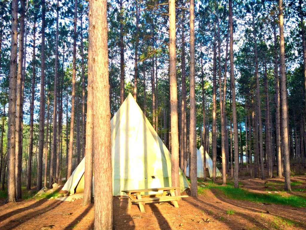 teepee cabins at spring hill