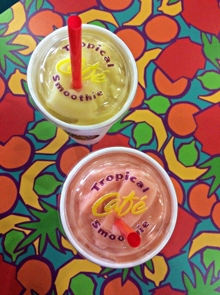 troipcal smoothie cafe smoothies
