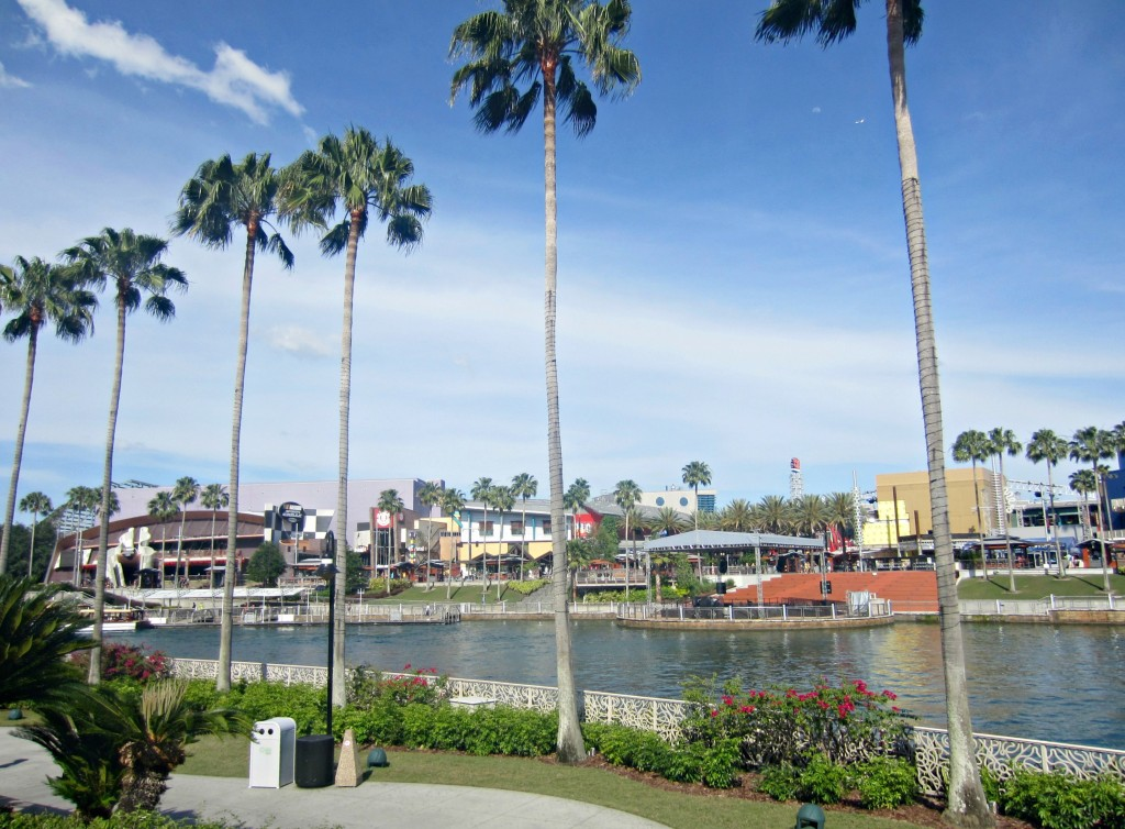 universal city walk on the water