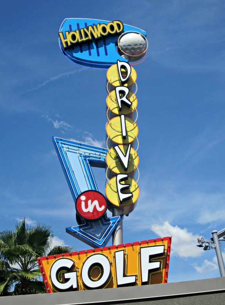 universal hollywod drive in golf