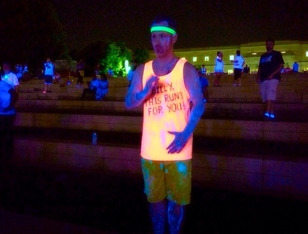 The Neon Dash dancing party