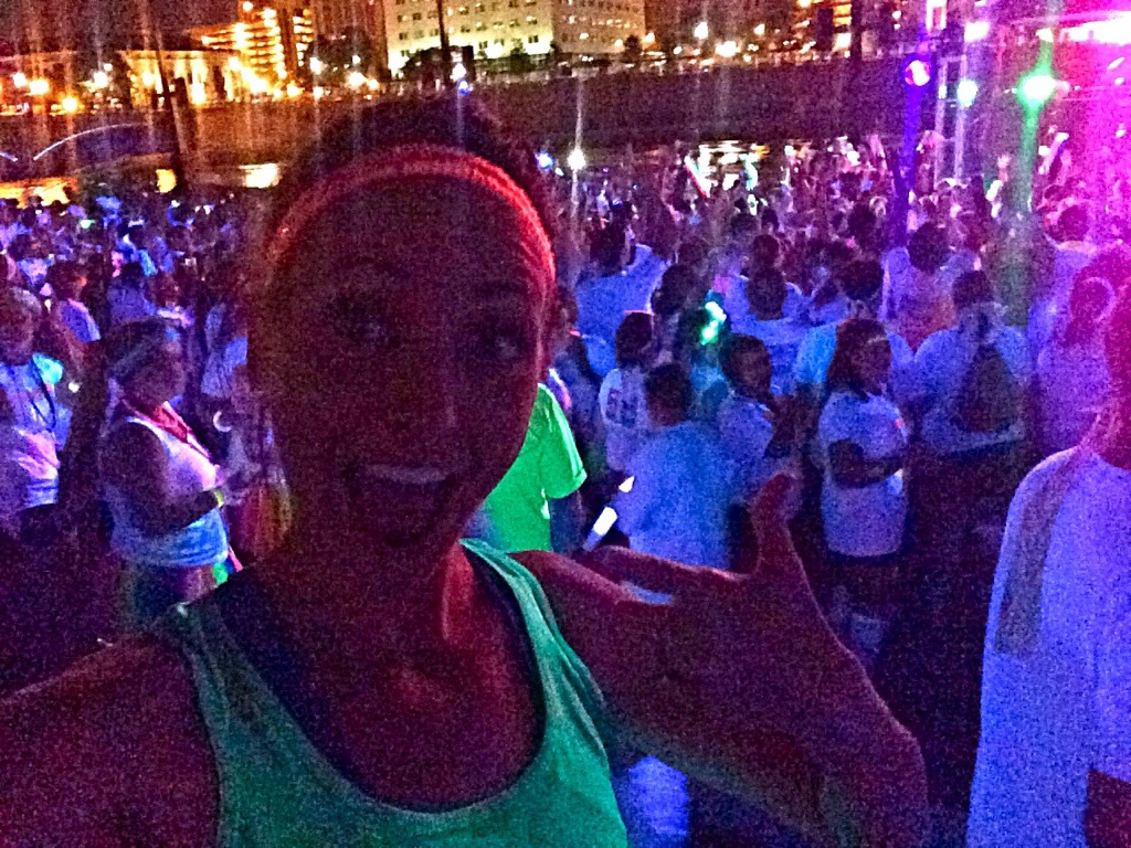 The Neon Dash 5K after party