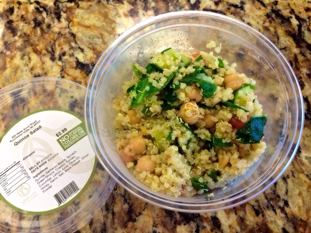 life cafe quinoa salad
