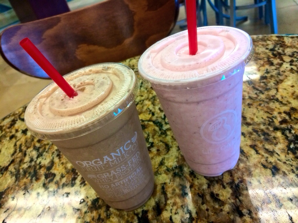 life cafe protein smoothies