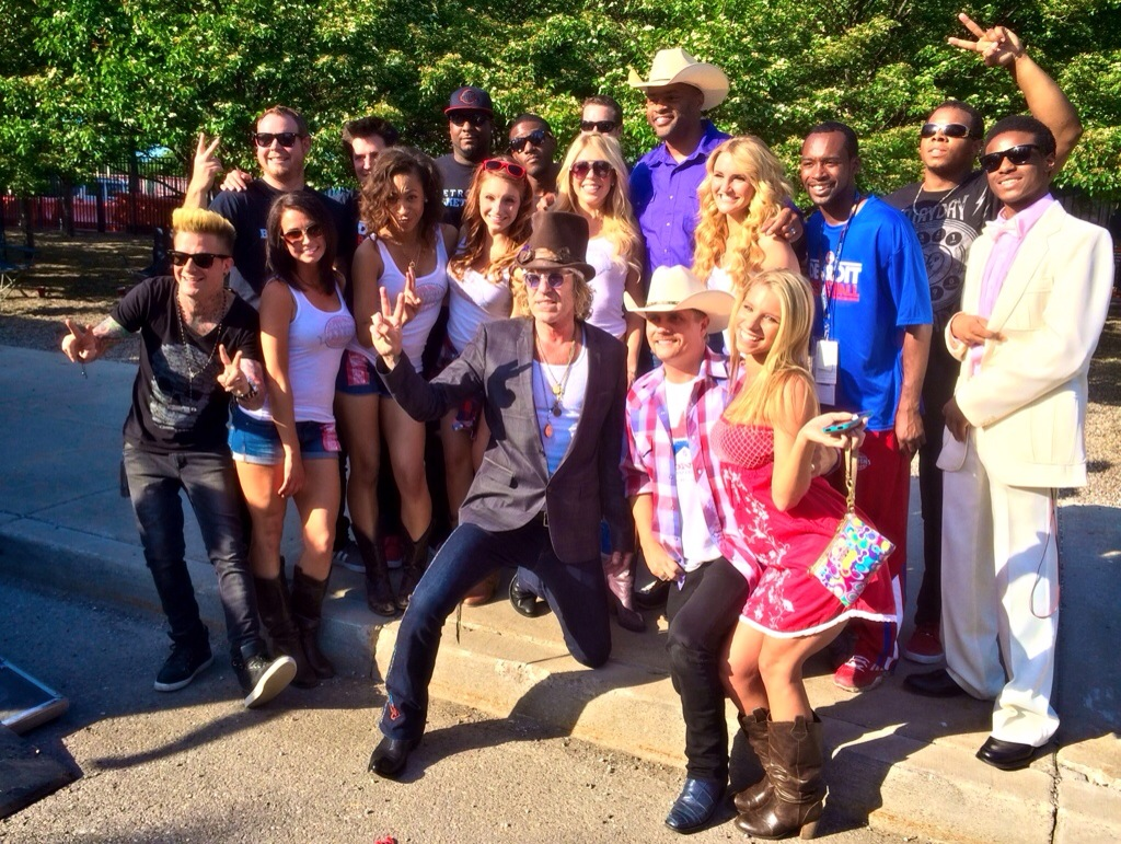 big & rich concert at detroit hoedown