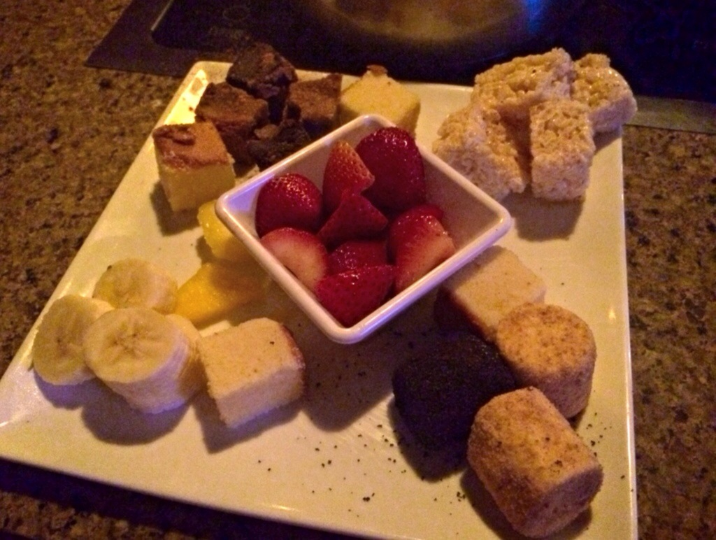 melting pot dipping chocolate