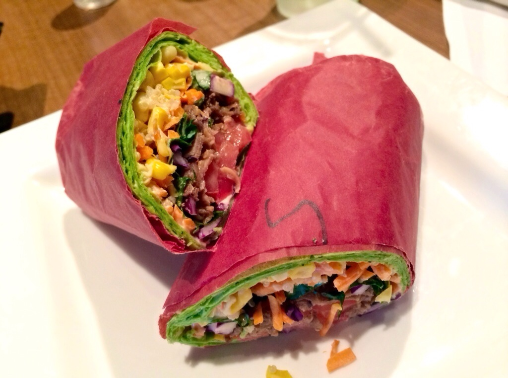 korean steak wrap special