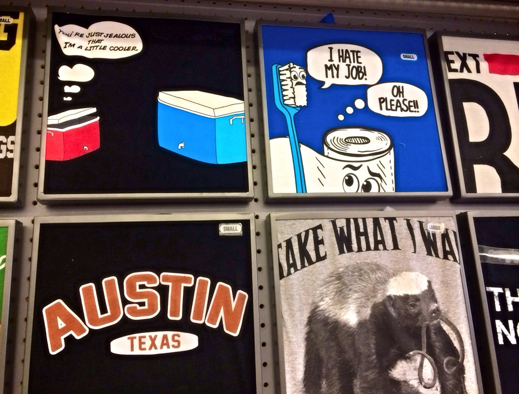 funny shirts from five below