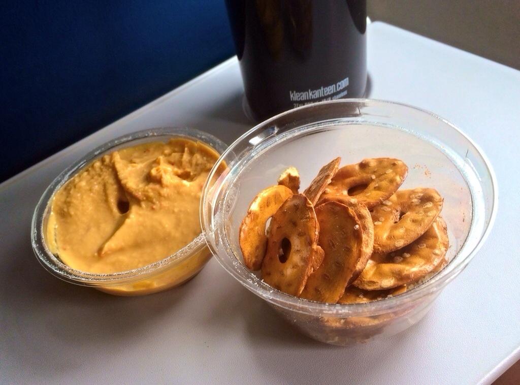 sabra snack pretzels and hummus