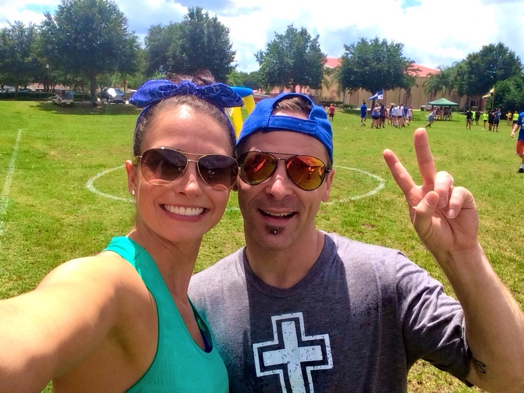 Scott and Heather at Camp Orlando 2014