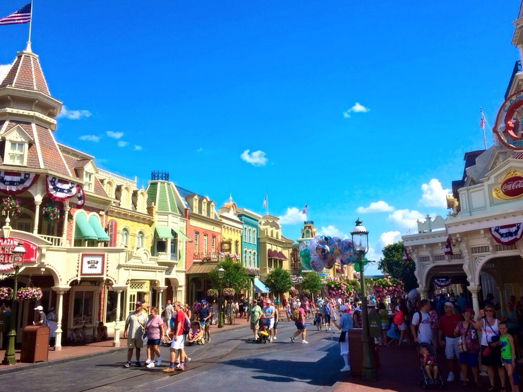 Disney World Main Street