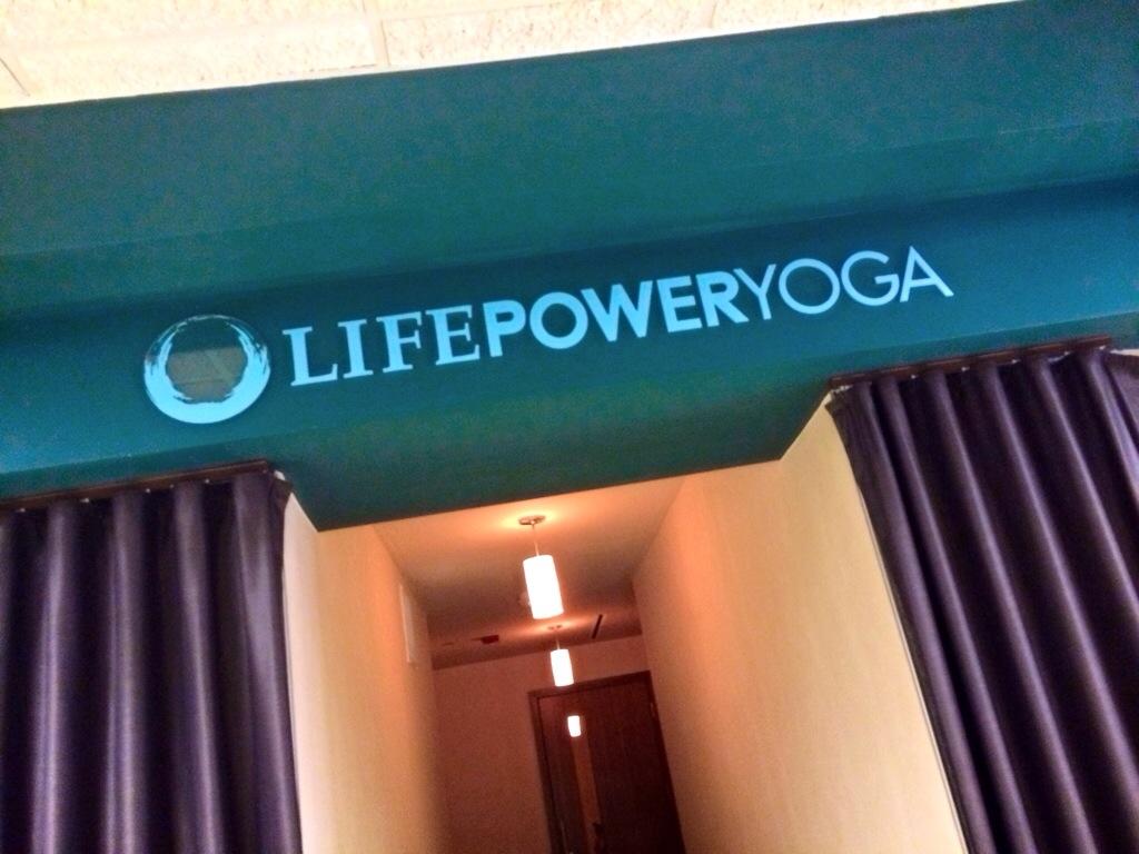 Life Time Power Yoga studio