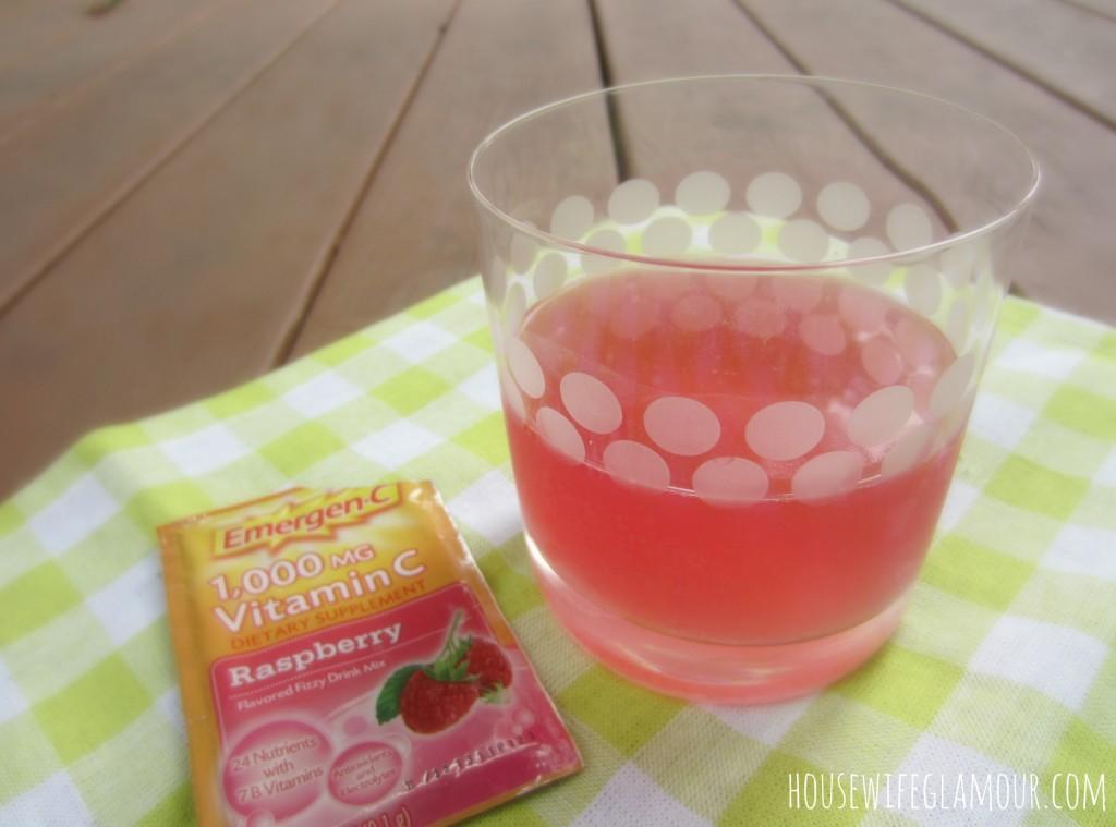 Emergen-C Raspberry drink