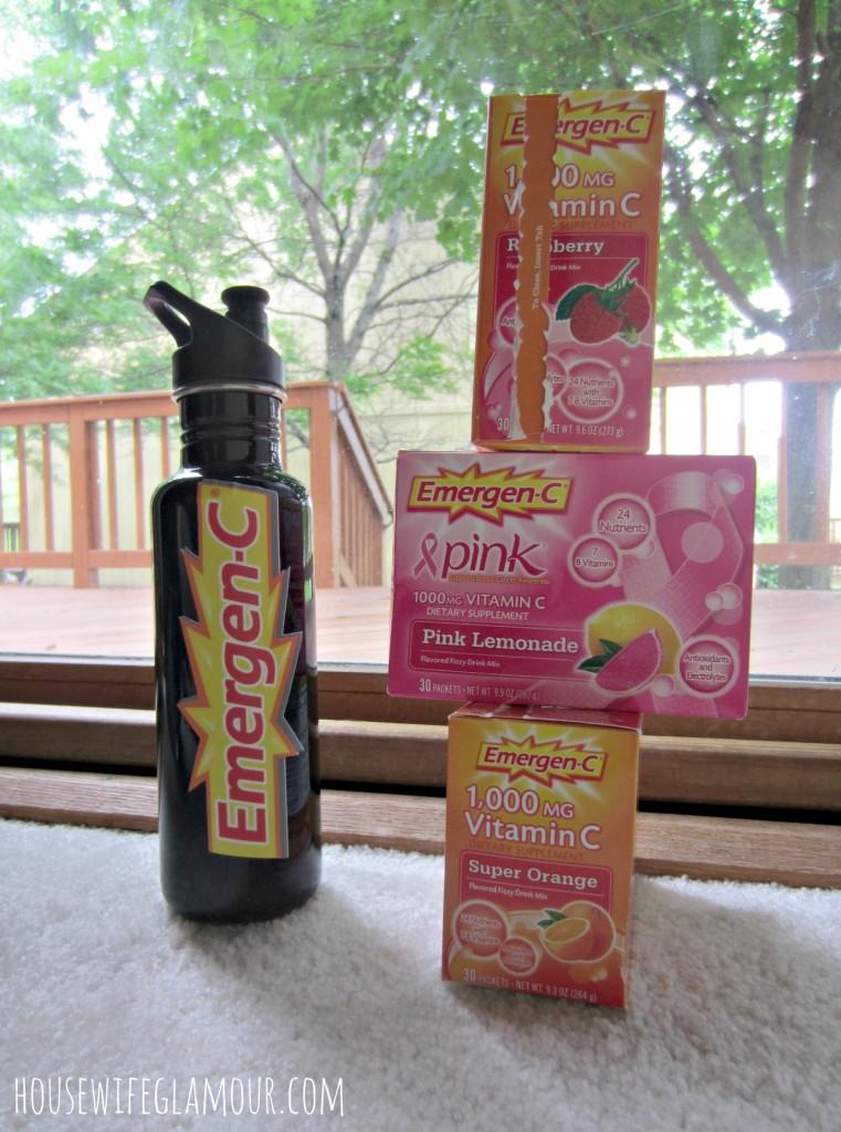 Emergen-C vitamin packets giveaway