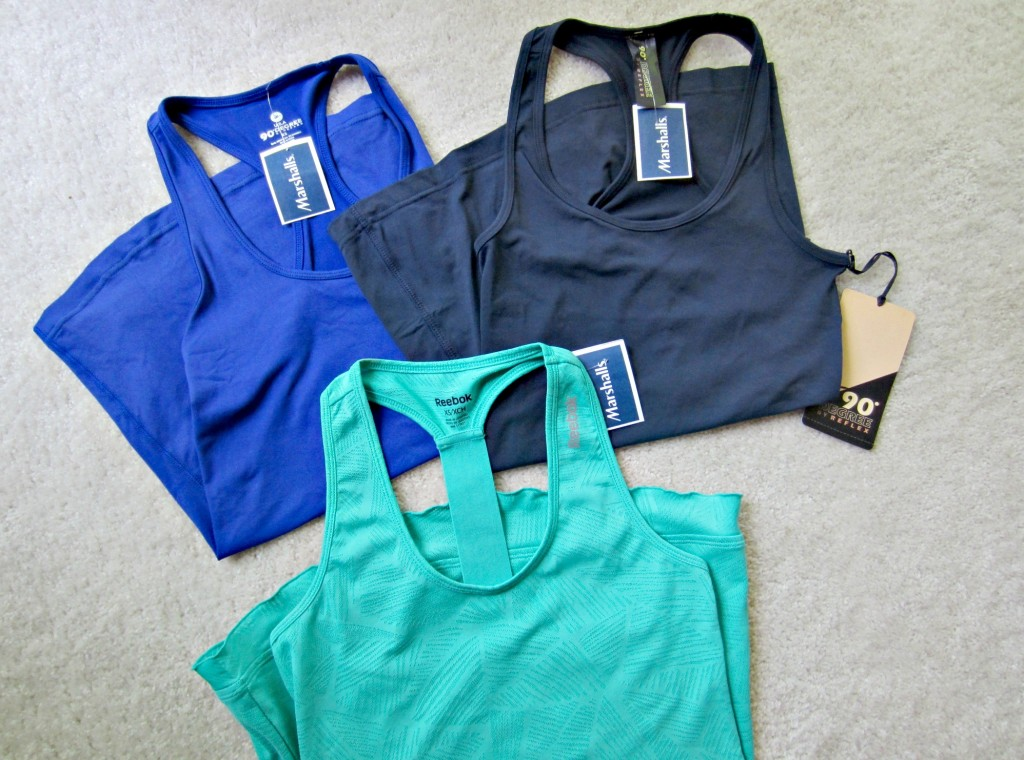 Marshall's fitness tops