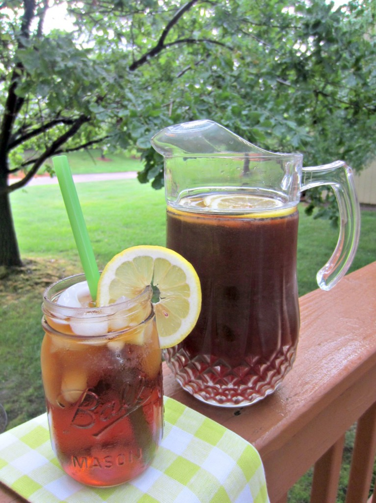 National Iced Tea Month 2014 Housewife Glamour