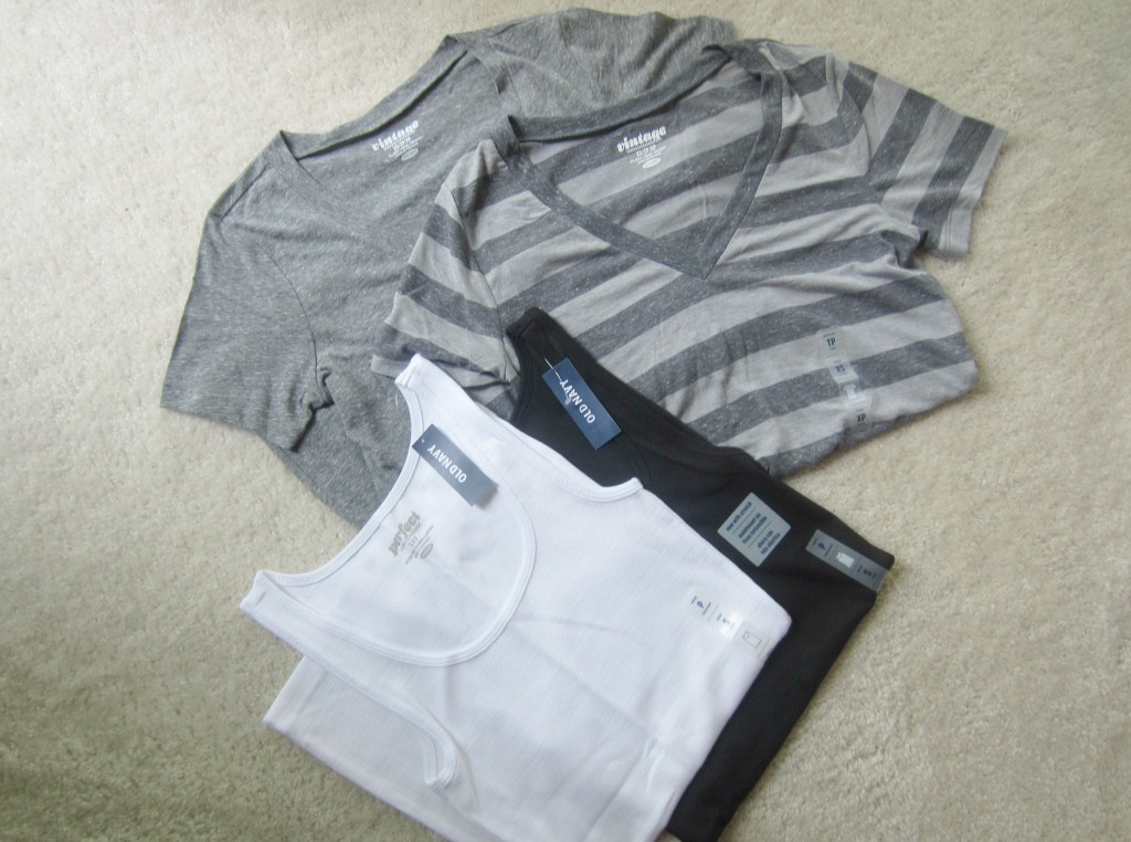 Old Navy vintage t-shirts and tanks on sale