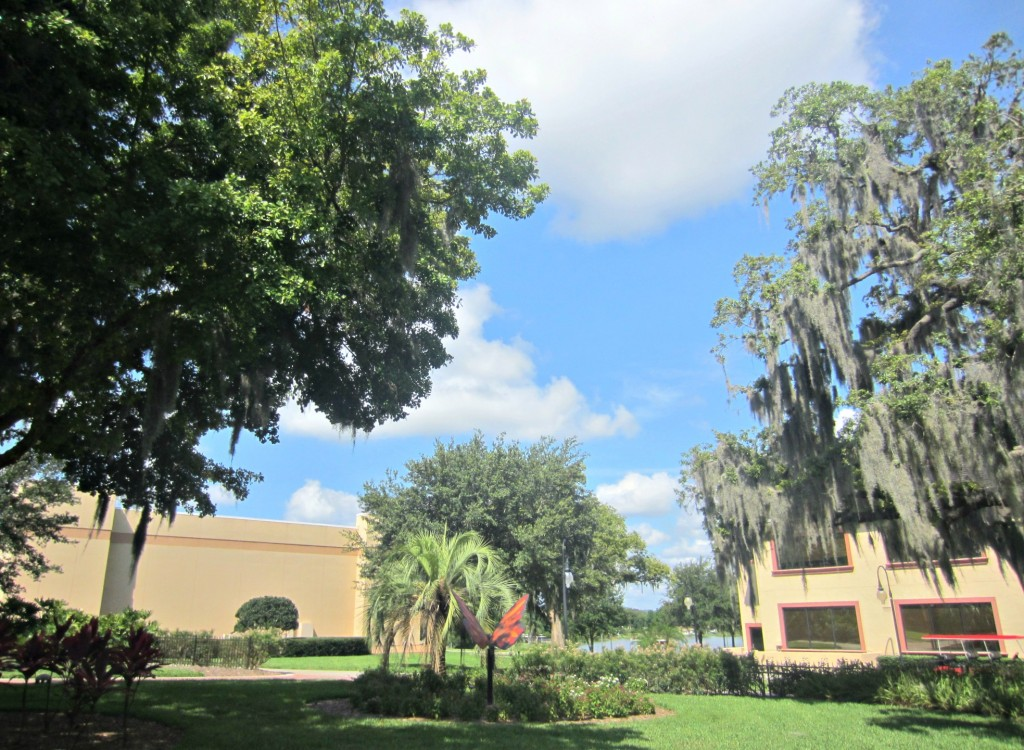Southeaster University Courtyard