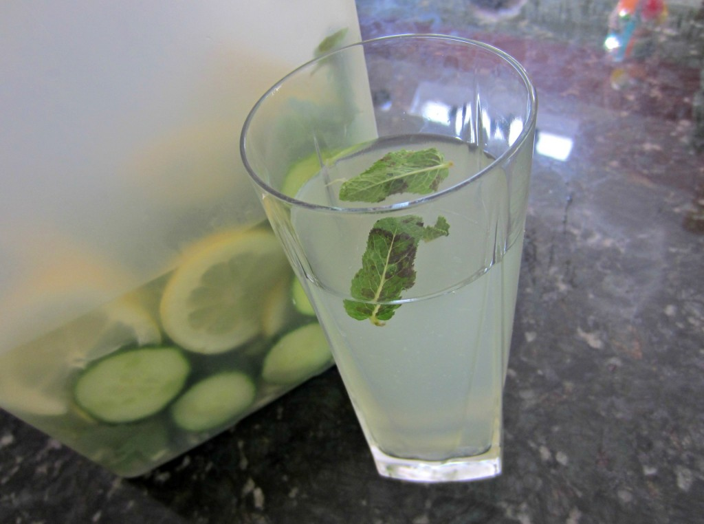 cucumber flat tummy water
