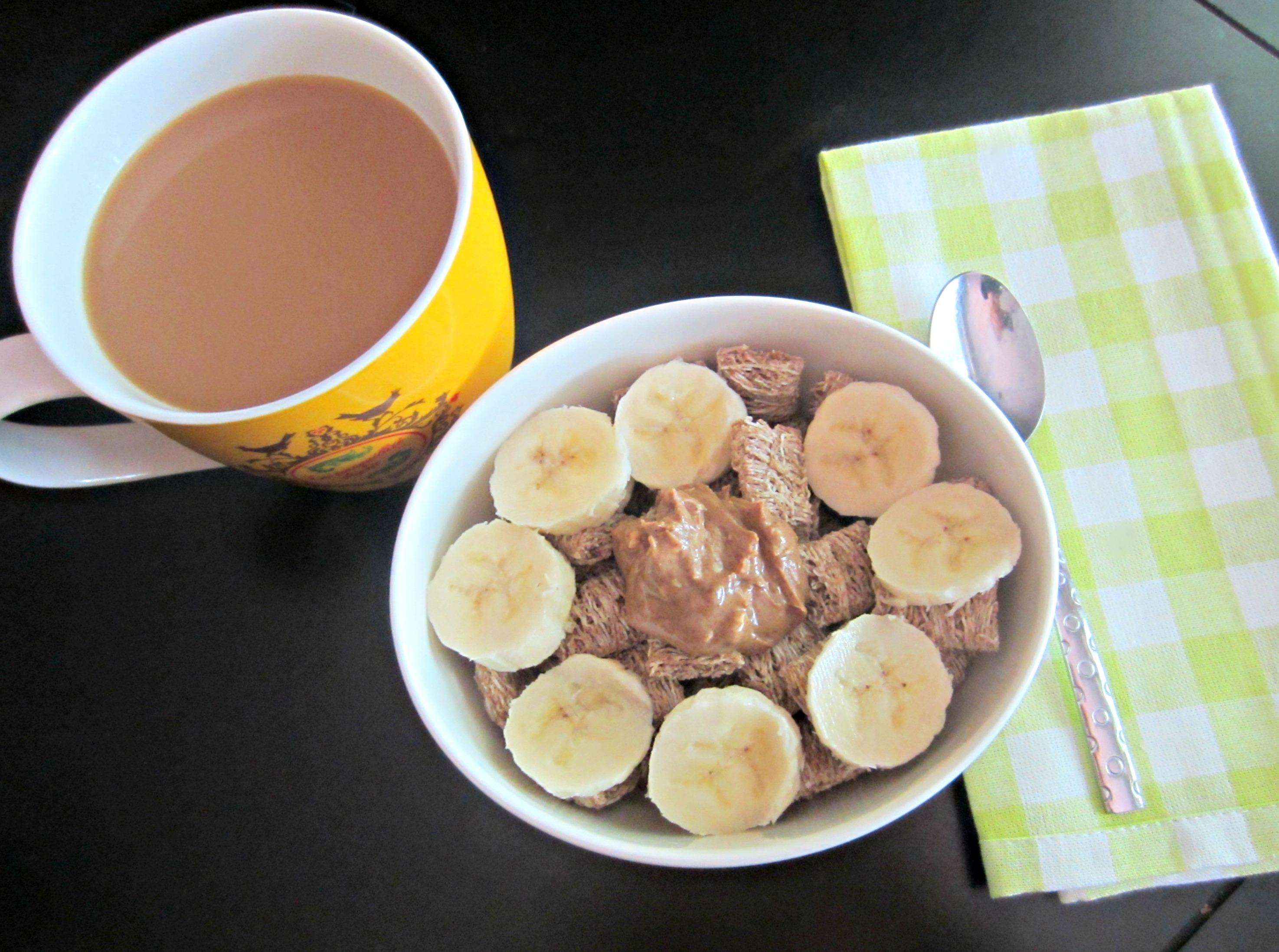 healthy cereal breakfast