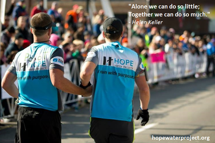 hope water project quote