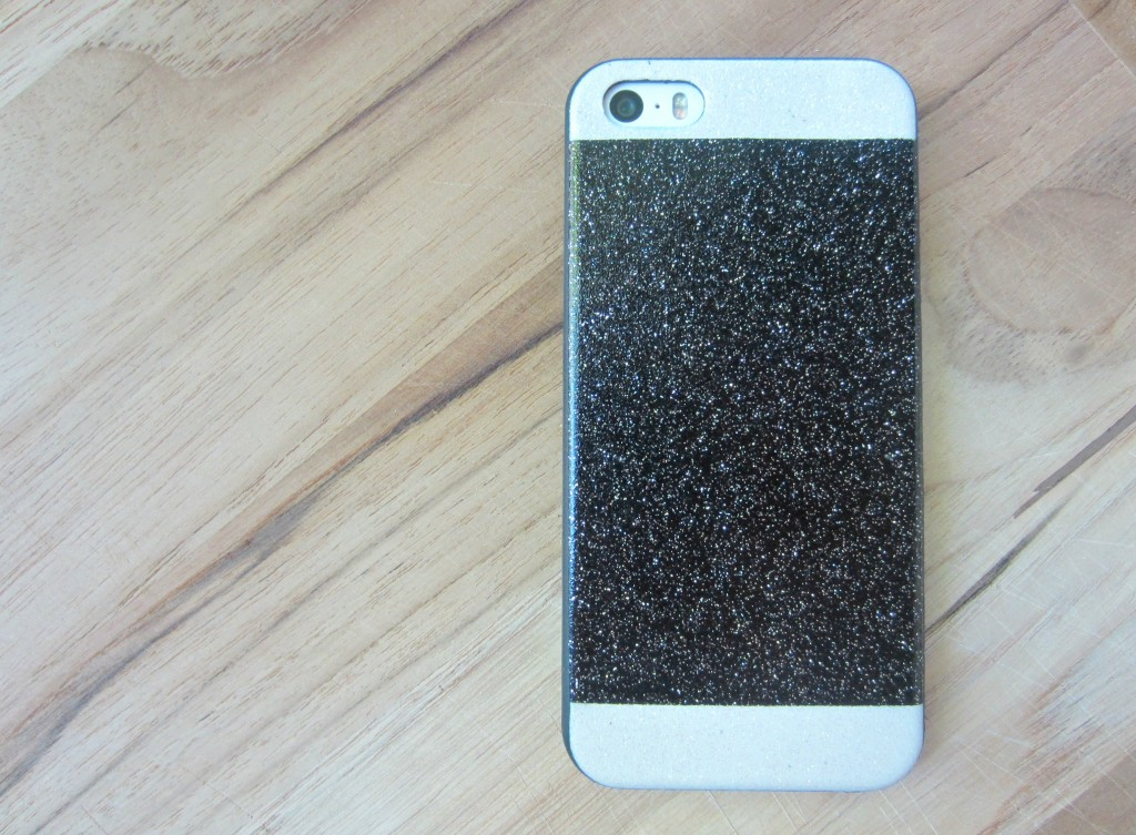 pac sun glitter iphone case