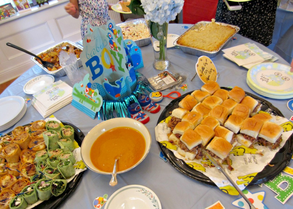 Baby Shower food setup