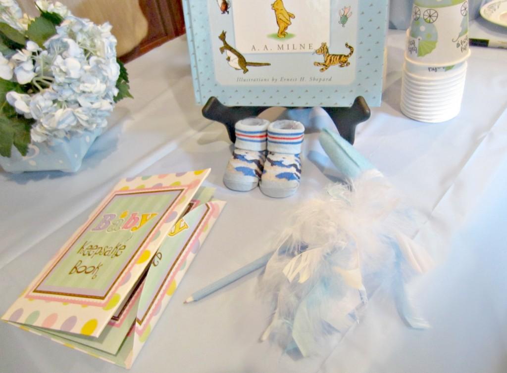 Baby Shower keepsake book