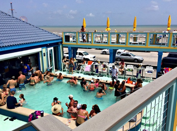 Float Bar Galveston pool jpg